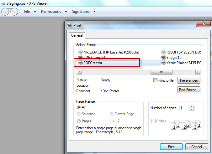 2nd step to Reproduce Password Protected PDF File